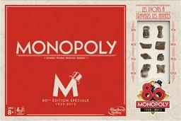 Boite du Monopoly Vintage 80e anniversaire