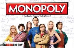 Boite du Monopoly The Big Bang Theory