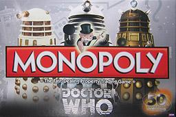 Boite du Monopoly Doctor Who (50e anniversaire)