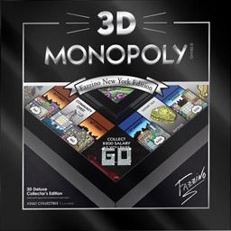 Boite du Monopoly 3D - Fazzino