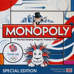 Boite du Monopoly Team GB