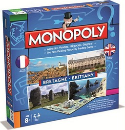 Boite du Monopoly Bretagne - Brittany