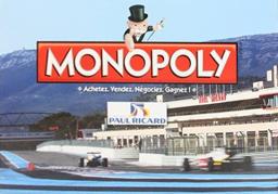 Boite du Monopoly Circuit Paul Ricard
