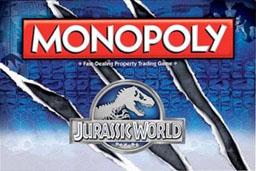 Boite du Monopoly Jurassic World