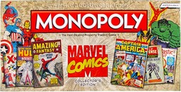 Boite du Monopoly Marvel Comics