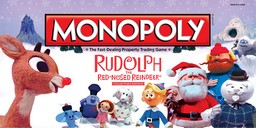 Boite du Monopoly Rudolph the Red-Nosed Reindeer