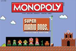 Boite du Monopoly Super Mario Bros