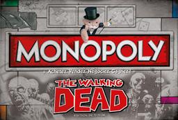 Boite du Monopoly The Walking Dead
