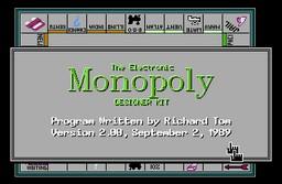 Boite du Monopoly The Electronic Monopoly
