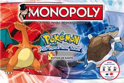 Boite du Monopoly Pokemon - Édition de Kanto