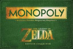 Boite du Monopoly Zelda : édition en français